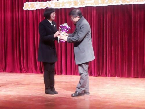 我校赖洪梅老师荣获金牛区最美女教师称号