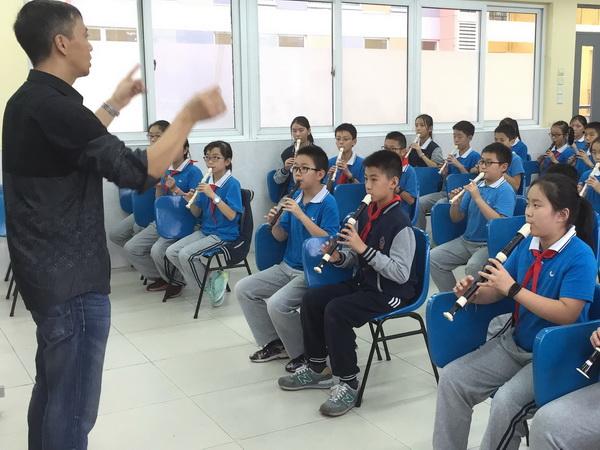 小学竖笛简单的乐谱